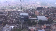 Stock Video Footage of Cable car Medellin