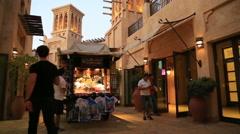 Souk Madinat Jumeirah 3 Stock Footage