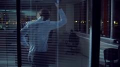 Lights off Fun - stock footage