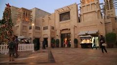 Souk Madinat Jumeirah Stock Footage