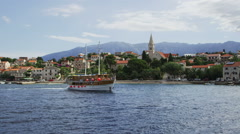 Sumartin on Brac Island Stock Footage