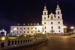 The Cathedral Of Holy Spirit In Minsk, Belarus - stock photo