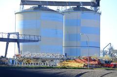 Gasoline tanks Stock Photos