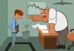 Boss - stock illustration