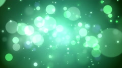 Stock Video Footage of 4K Animation. Abstract motion background, shine, light, particles, rays, loop.