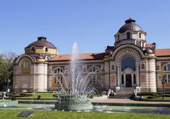 central mineral baths in sofia - stock photo