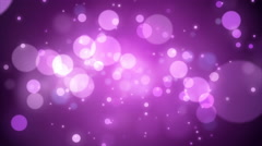 4K Animation. Abstract motion background, shine, light, particles, rays, loop. Stock Footage