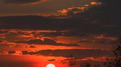 Sunrise at Lampang (Timelapse) Stock Footage