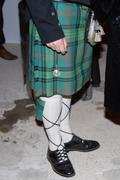 Man in traditional kilt Stock Photos