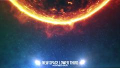 Space Light Lower Third 4 (5 pack) - stock after effects