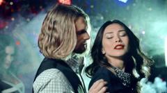 Flirtatious Dance - stock footage