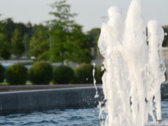 Fountain streams. Related clips are in my portfolio in 1920x1080. Stock Footage
