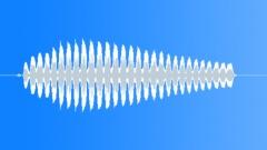 Cartoon bird twirling calling - sound effect