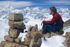 ausangate, andes - stock photo