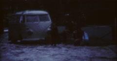 Tahiti Flood 1968 60s Historical 16mm Kids Running Stock Footage