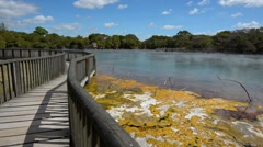 Stock Video Footage of Kuirau Park in Rotorua - New Zealand