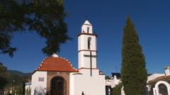 Small church, Ermita del Calvario.  Stock Footage