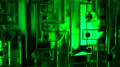 Green vivid background Stock Footage