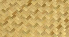 bamboo weave pattern - stock photo