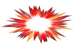 Vector explosion Stock Illustration