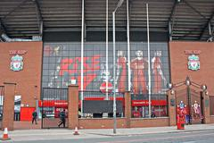 the kop liverpool football club - stock photo