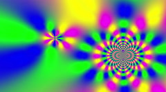 Hypnotic Psychedelic LSD Animation - stock footage