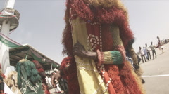 Masquerade dancing Stock Footage
