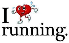 Running sign Stock Illustration