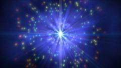 Cosmos fly in stars 4k Stock Footage