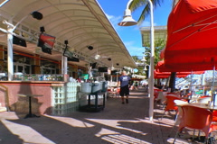 Bayside market in Miami - stock footage