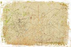 Grunge sepia cracked background Stock Illustration