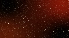 Traveling Throuhg the Galaxy - Lots of Stars Stock Footage
