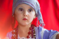 baby fortune teller - stock photo
