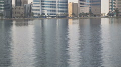 Cityscape Sharjah Stock Footage