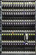 Replacing a failed hard drive Stock Photos