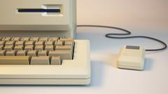 Old personal computer Piirros