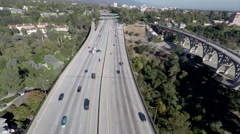 Los angeles traffic Stock Footage