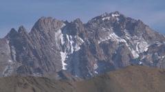 Snowy mountains in Ladakh, India (Jammu & Kashmir). Stock Footage