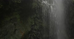 4k, cascada de los tilos, waterfall on la palma, canaries Stock Footage