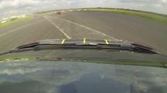 Gumball Lamborghini Aventador onboard 3 Stock Footage