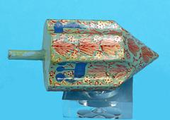 chanukah dreidel - stock photo