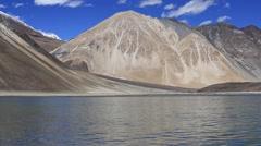 Video 1920x1080 - Pangong Lake In Tibet, Ladakh, India Stock Footage