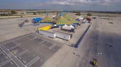 Cirque de soliel aerial 4k Stock Footage