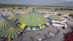 Cirque de soliel aerial 4k 2 Stock Footage