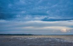 The Meeting of Waters (Portuguese: Encontro das Aguas) , Amazon River Stock Photos