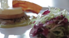 Food and style Stock Footage