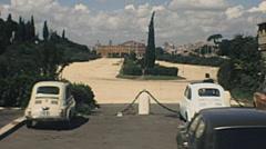 Rome 1970s: circus maximus Stock Footage