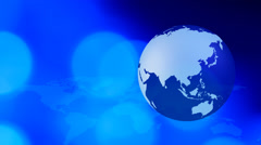 Global business internet media concept background - stock footage
