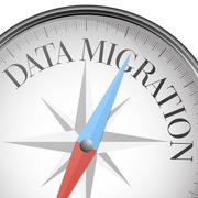 Compass data migration Stock Illustration