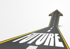 Road to future Stock Illustration
